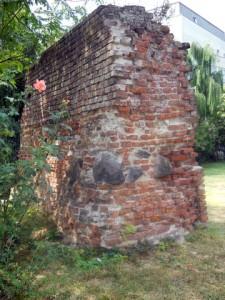 zid bastion parcul Botanic