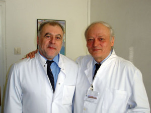 Marian Gaspar si Csaba Dzsinich bust