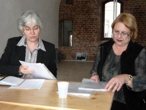Otilia Hedesan si Alina Zamfir