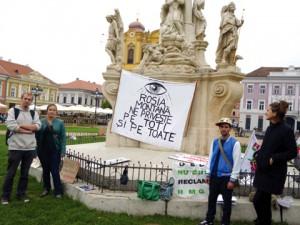 corturi protest Piata Unirii (3)