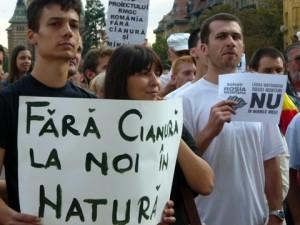 protestari Rosia Montana 2