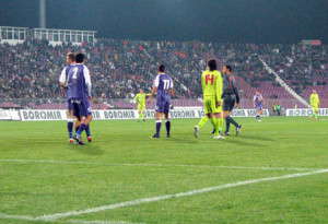 Meci Poli Steaua