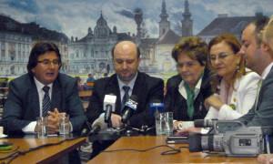 Ministri liberali la Timisoara