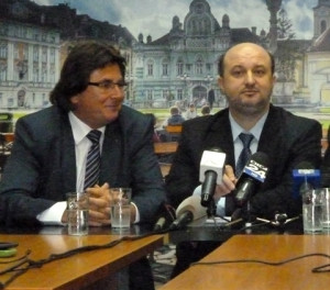 Nicolae Robu si Daniel Chitoiu