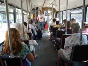 interior tramvai