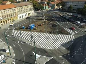 Piata Balcescu vazuta de sus