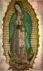 Icoana Fecioara Maria de Guadalupe
