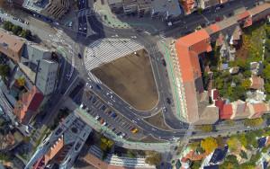 Intersectie Piata Balcescu foto de sus