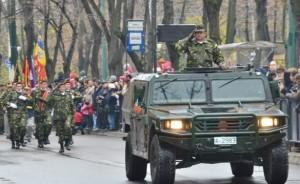 Parada militara - dimineata 1 Decembrie