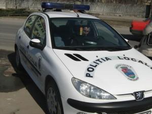 Masina Politie Locala Timisoara