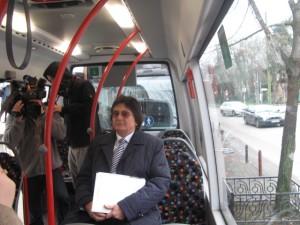 Nicolae Robu in microbuz