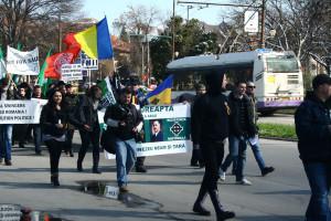 Protest Noua Dreapta Timisoara
