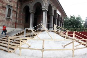 Reabilitare trepte Catedrala Timisoara