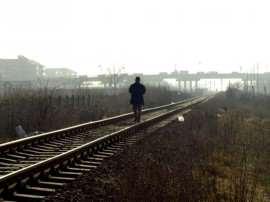 om pe linii de tren