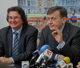 Nicolae Robu si Crin Antonescu