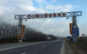 Poarta intrare in Timisoara