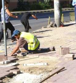 Reparatii trotuare