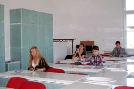 Elevi al Bacalaureat iunie 2013 Timisoara Foto Florin Balu