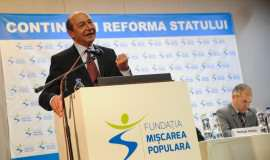 Traian Basescu la Timisoara