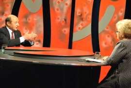 Traian Basescu si Brindusa Armanca interviu