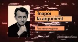 Horia Roman Patapievici Inapoi la argument