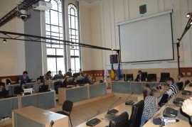 Sala Consiliu Local Timisoara