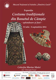 Afis Costume traditionale din Banatul de campie