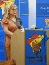 Lidia Barac presedinte Curte de Apel Timisoara foto inalt