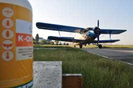 Dezinsectie cu Aviatia Utilitara