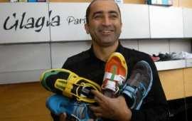 Karim Oumnia si pantofii cu talpa inteligenta