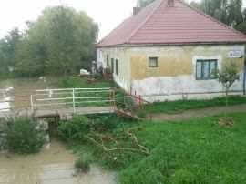 Locuinta afectata de inundatii