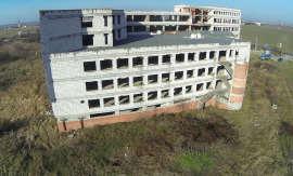 Spital Municipal Timisoara in constructie Foto eyeinthesky