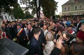 Traian Basescu la Sannicolau Mare septembrie 2014 Foto Doru Moldovan