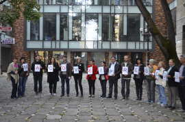 Lansare candidatura Monica Macovei la Timisoara