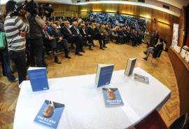 Lansare carte Klaus Iohannis la Timisoara sala