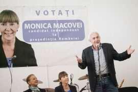 Monica Macovei Mihaela Mihai si Teodor Maries la Timisoara
