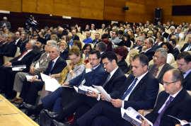 Politicieni in Aula Magna a UVT