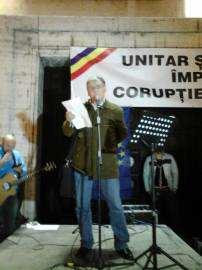 Marcel Tolcea la Miting Timisoara
