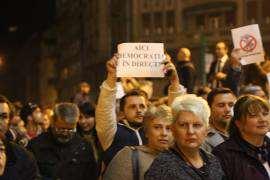 Protest Timisoara Foto Gheorghe Gelu