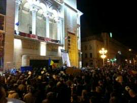 Protest Timisoara Foto Sorin Tinu