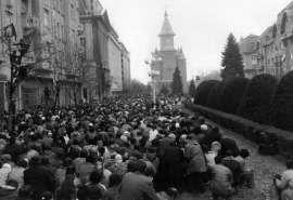 Timisoara 20 decembrie 1989 Foto Memorialul Revolutiei Timisoara