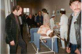 Filmari la Spitalul Municipal Timisoara pentru filmul Recviem pentru Dominic