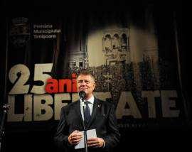 Klau Iohannis Opera Timisoara Foto Costi Duma