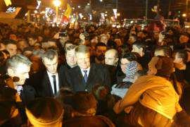 Klaus Iohannis printre timisoreni Foto ACL Timisoara (2)