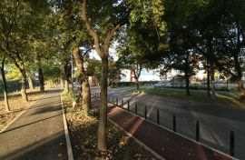 Stalpi pista biciclete Timisoara