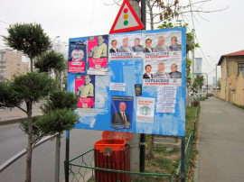 Afisaj electoral Foto Hotnews