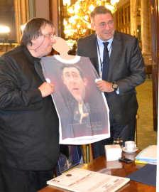 Stefan Popa Popas si Denis Ducarme