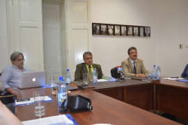Conferinta presa UMF Timisoara Foto Ligia Hutu