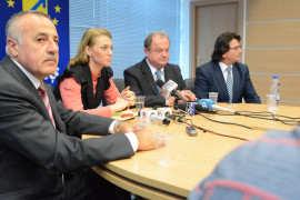 Dan Popa, ALina Gorghiu, Vasile Blaga si Nicolae Robu Foto   PNL Timis