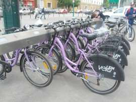 Intermodal biciclete Timisoara Foto debanat